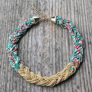 Jewelry - Seed bead necklace.